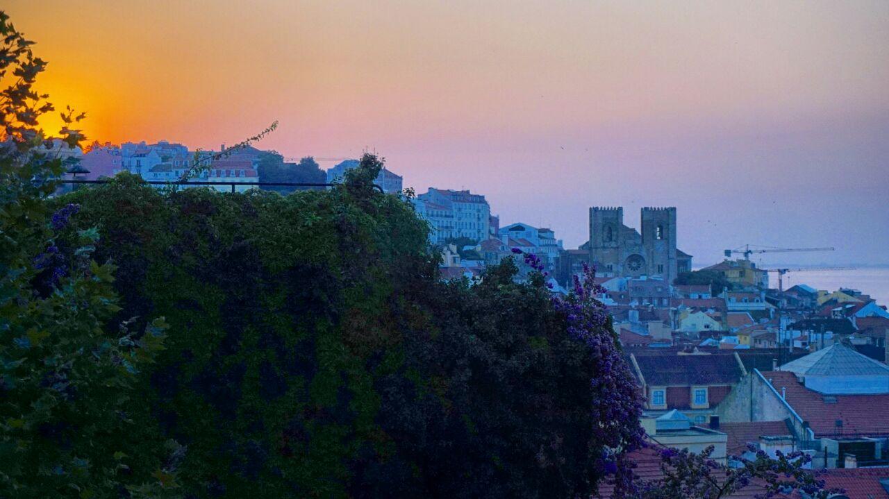 Amanecer en Lisboa