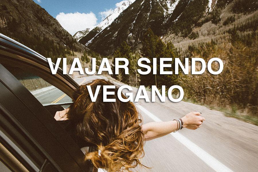 Viajar siendo vegano