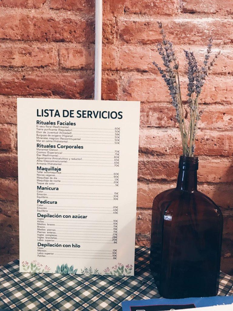 Vegere, centro de estética vegano de Barcelona