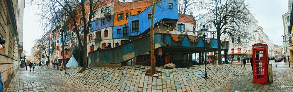 Hundertwasserhaus, Viena.