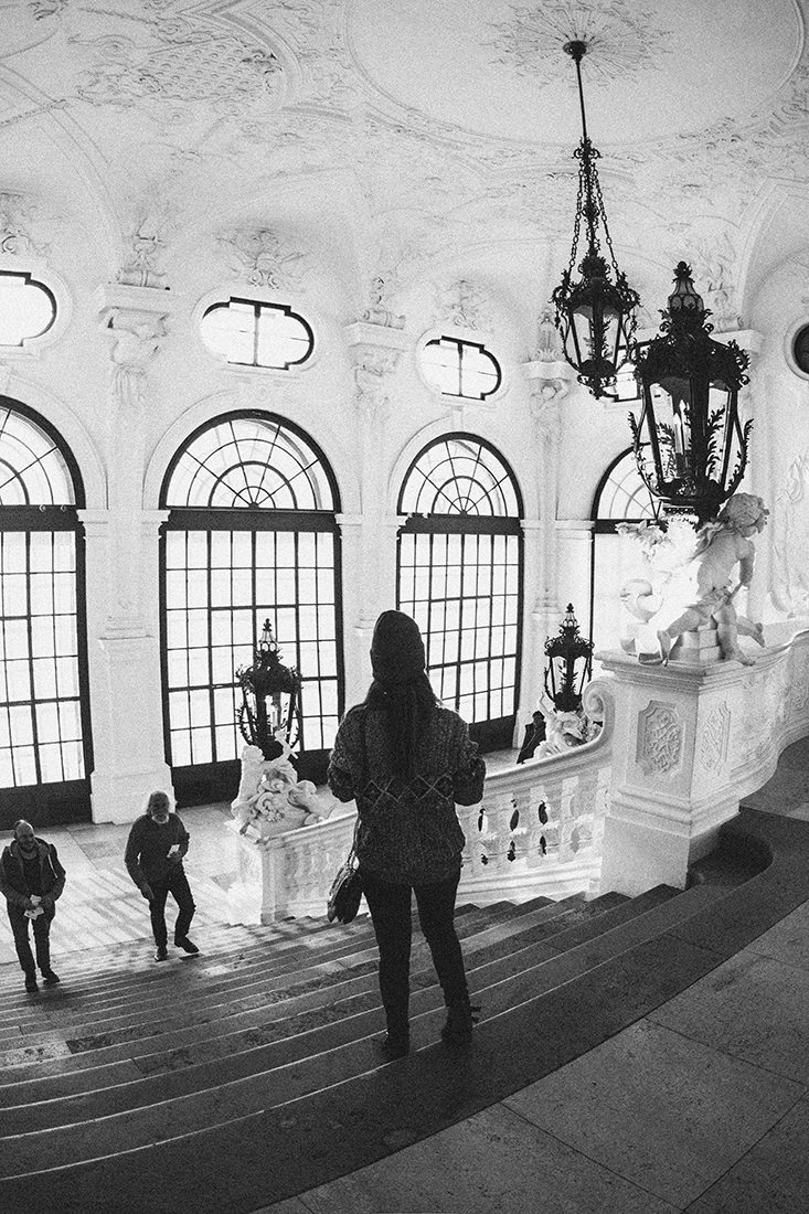 Interior del Museo Belvedere, Viena.