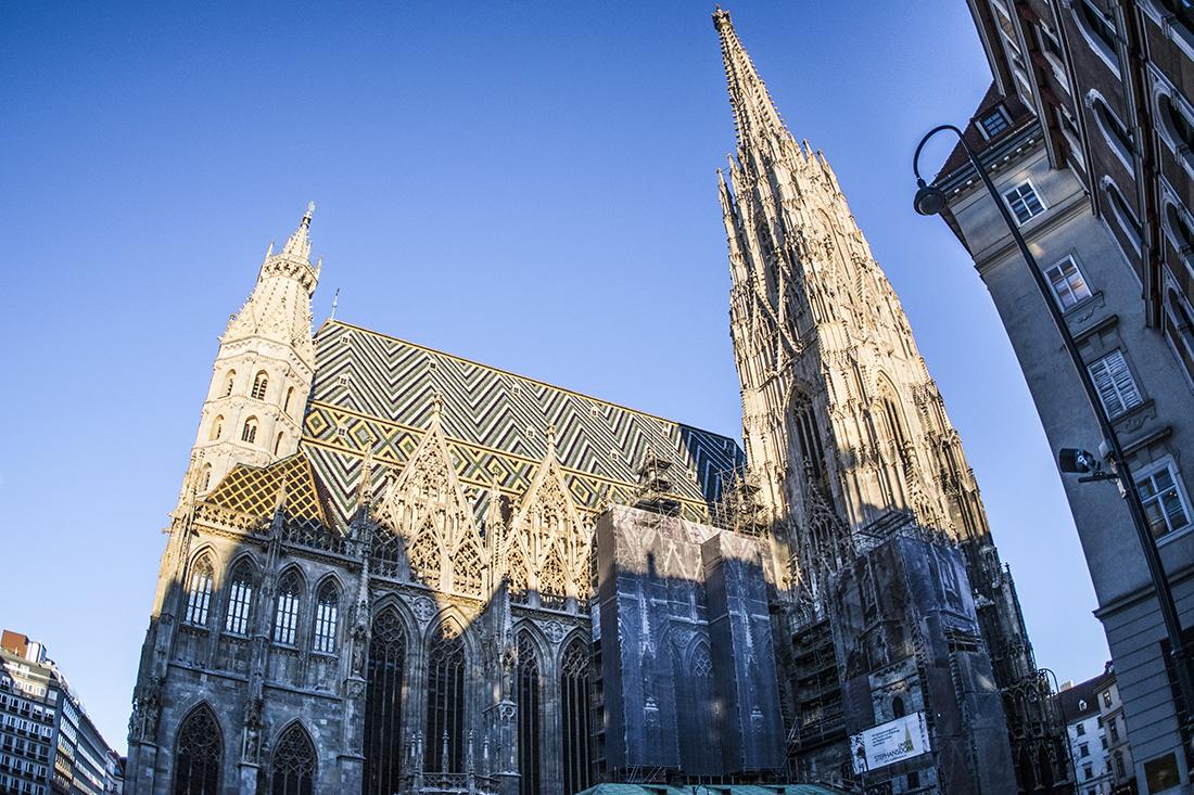 Catedral San Esteban de Viena.