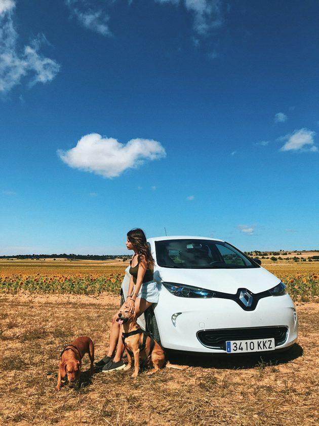 Review Viaje en Coche eléctrico Renault Zoe por Cuenca