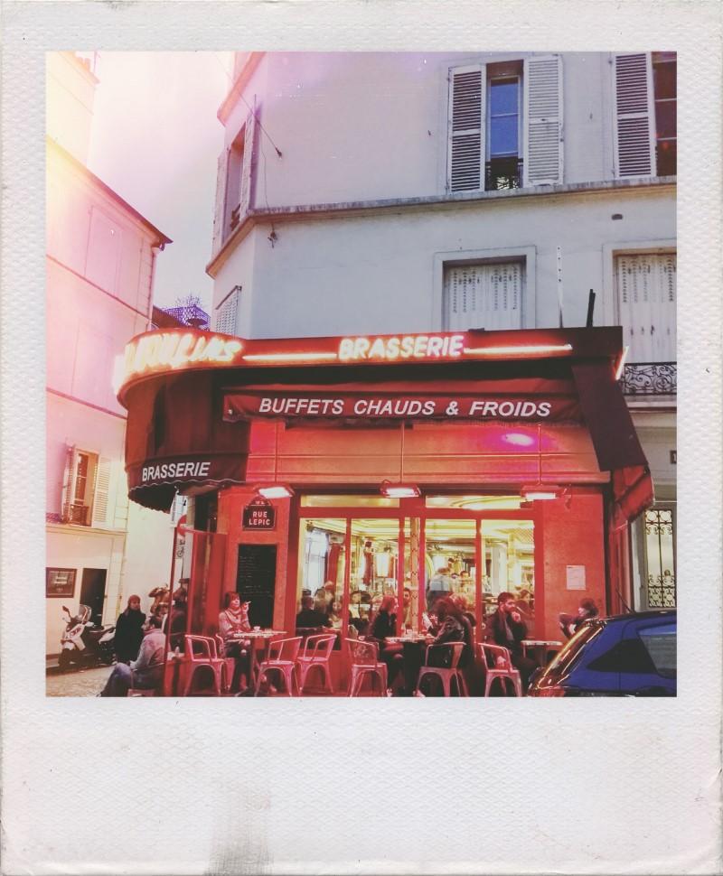 Cafetería de la película Amelie. Guía de viaje de París.