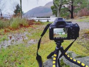 Paraje natural en Escocia. Guía de viajes.