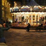 Plaza de la república en Florencia. Guía de viajes por Italia.