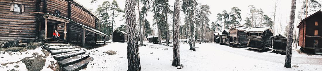 Panorámica - Isla Seurasaari, Helsinki (Finlandia)