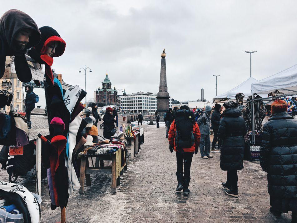 Plaza del Mercado, Helsinki