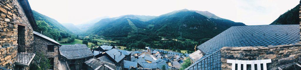 Vistas panorámicas: Espuy (Lleida).