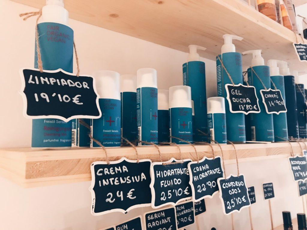 Productos cosméticos veganos a la venta en Végere.