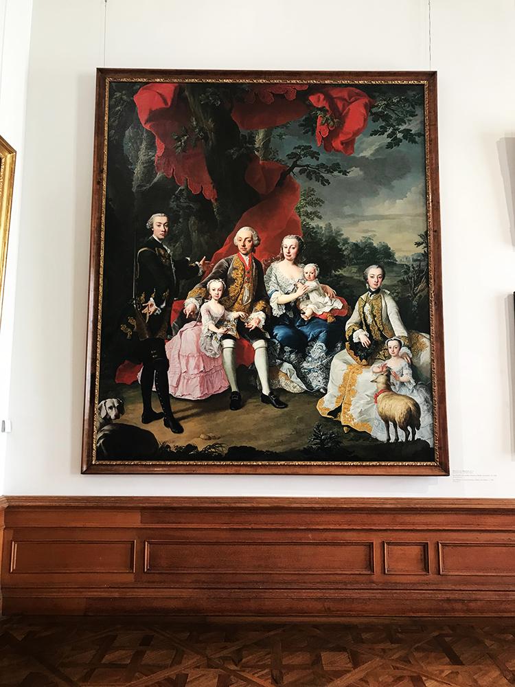 Martin van Meytens - The Family of Count Nikolaus Pálffy of Erdöd (1760)