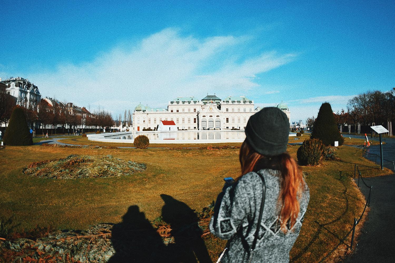 El Belvedere de Vienna. Blog de viajes: Una vegana en Viena, Austria