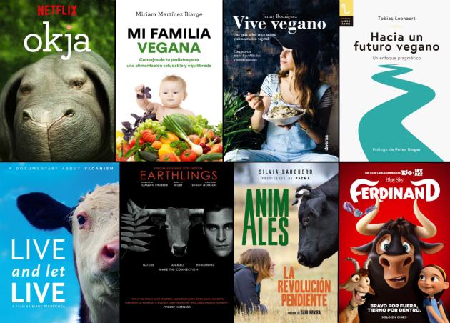 libros-documentales-veganismo-recetas-derechos-animales
