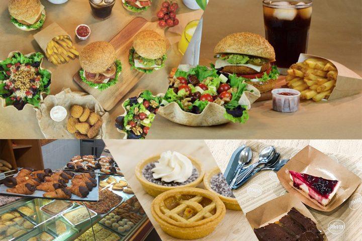 Restaurantes vegano en Valencia. Pastelerías. Hamburguesas. Fast food. Dulces.