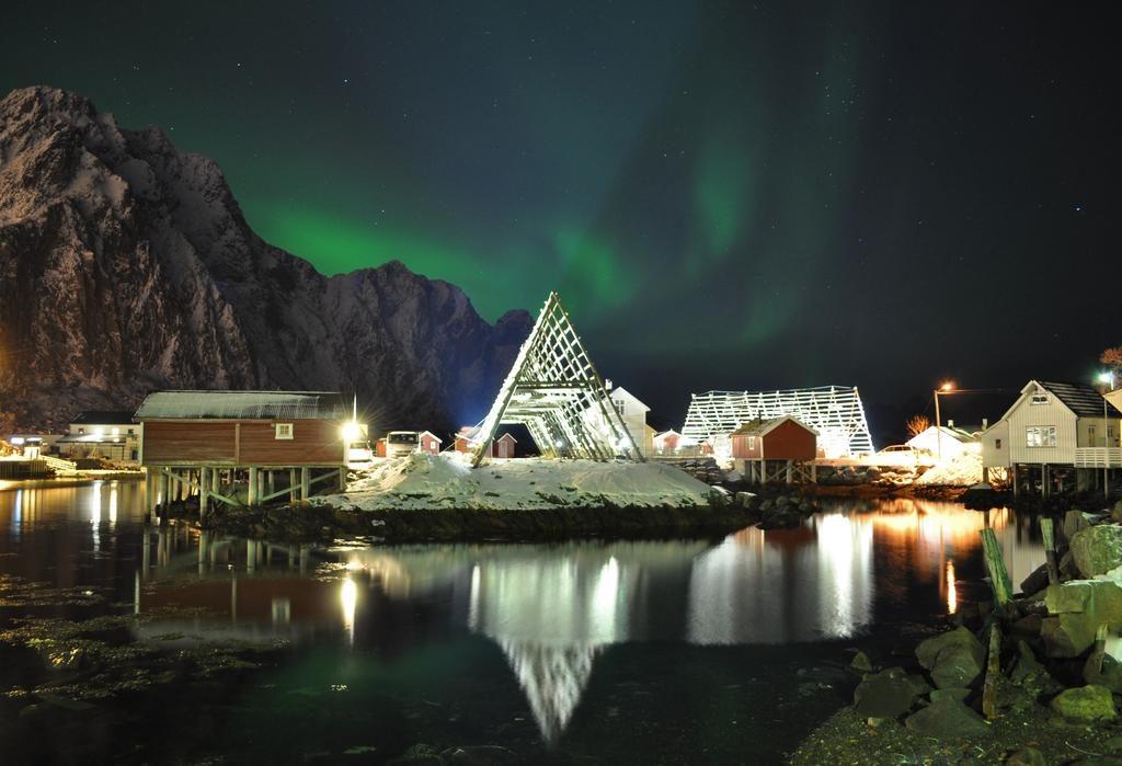 auroras boreales noruega viaje hoteles viajes veganos