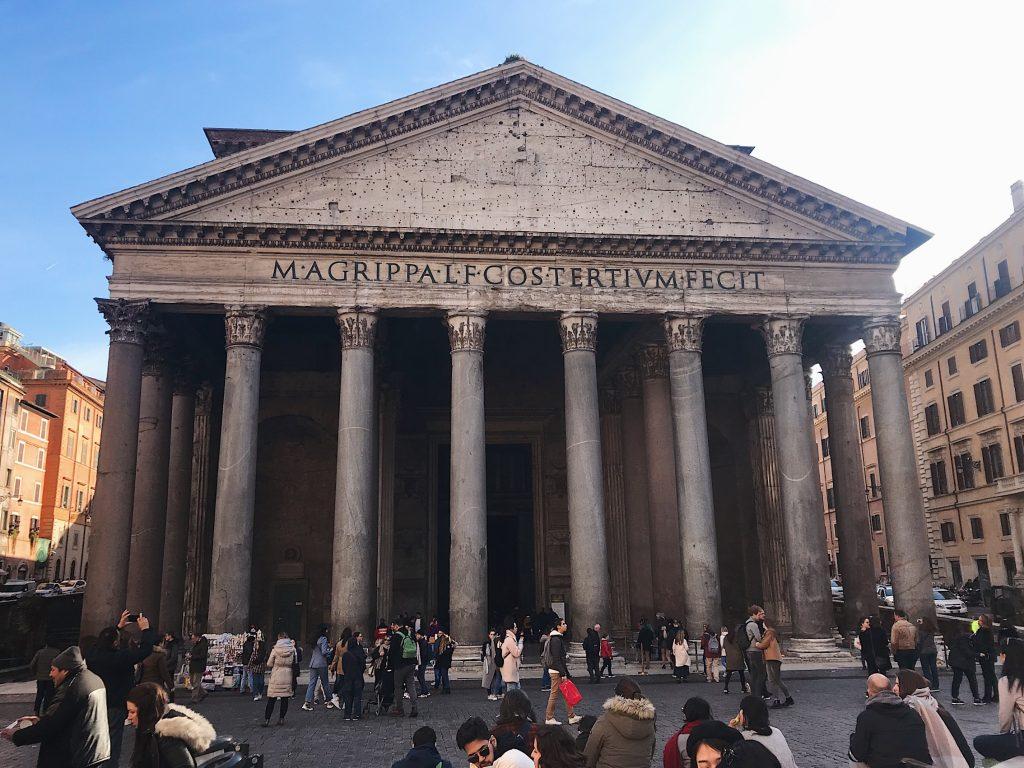 Panteón de Agripa, Roma.