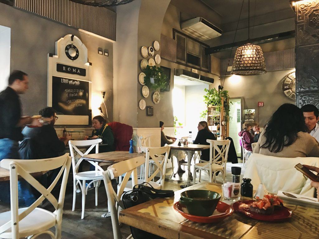 Restaurante con opciones veganas en Roma: Buddy
