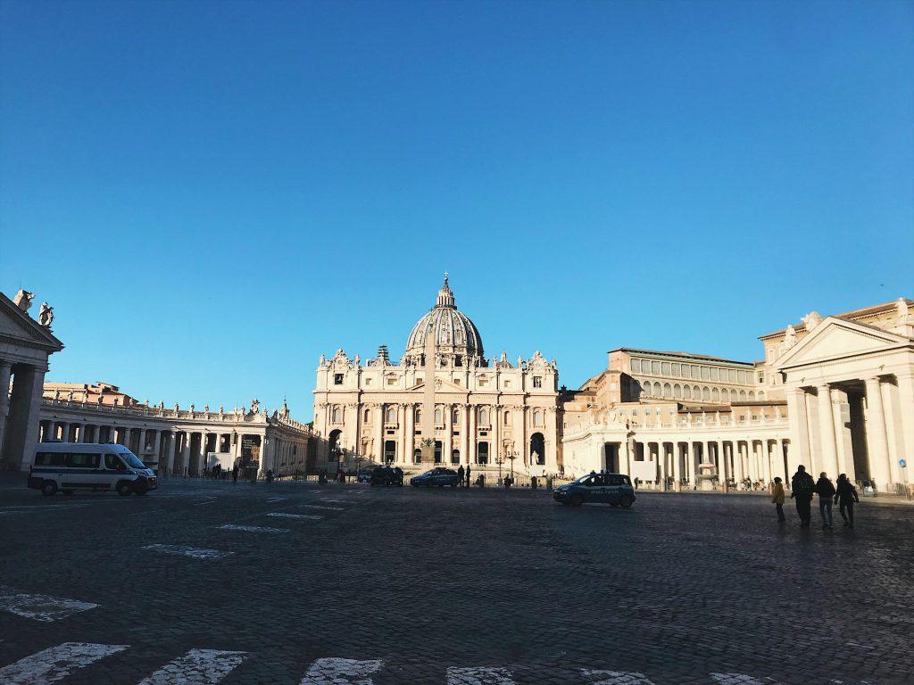 Plaza de San Pedro, Ciudad del Vaticano.