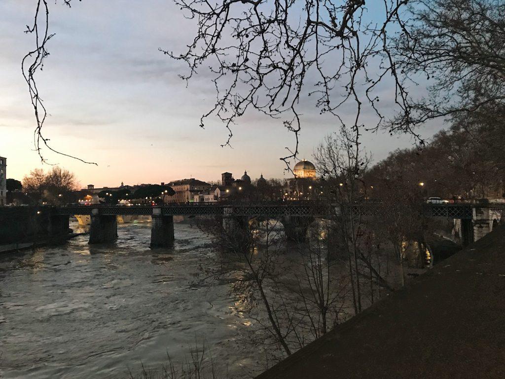 Río Tíber, Roma.