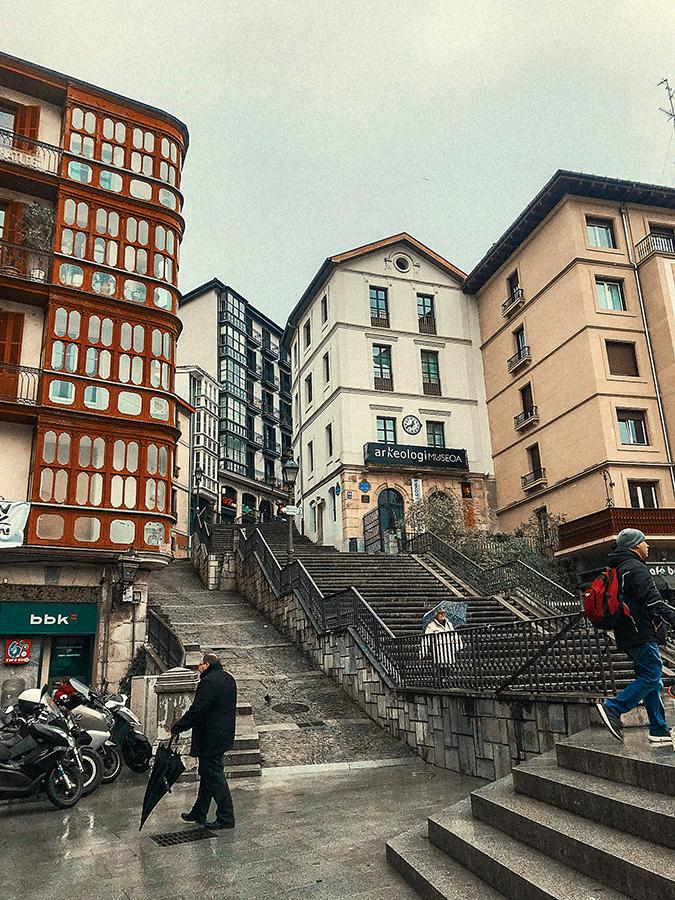 Casco Antiguo de Bilbao. Viajes y veganismo.