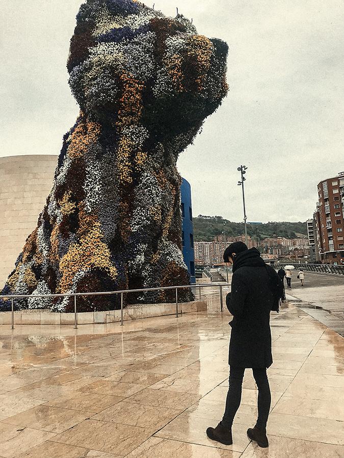 'Puppy' el perro gigante de Bilbao.