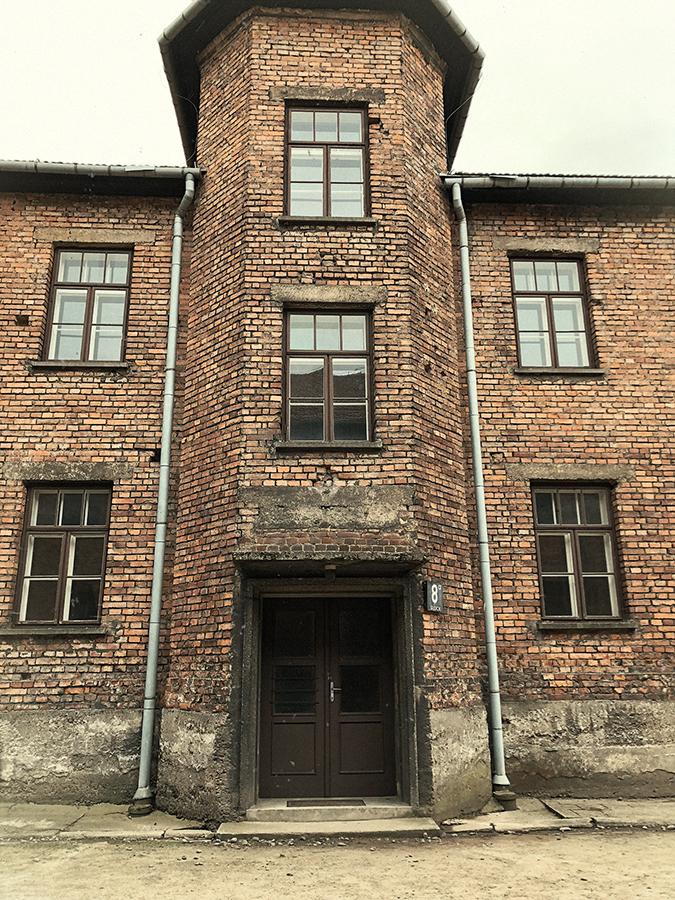 Barracones de Auschwitz.
