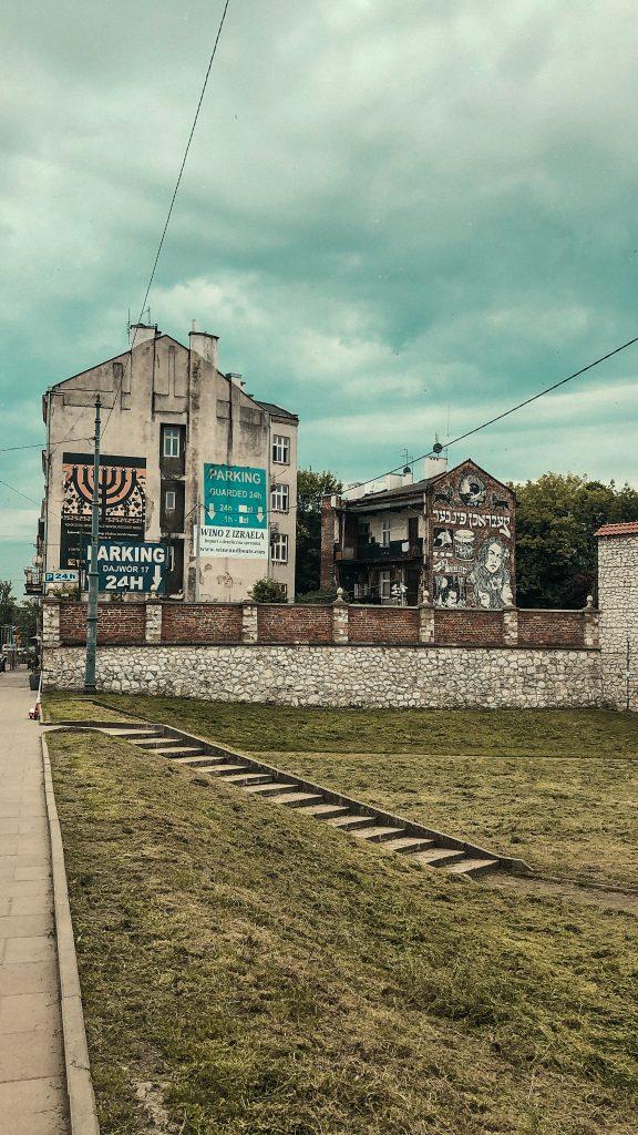 Callejones de Kazimierz, Cracovia.