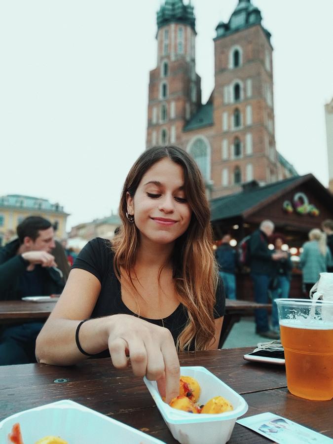 Plaza del mercado. Cracovia. Blog de viajes. Polonia.