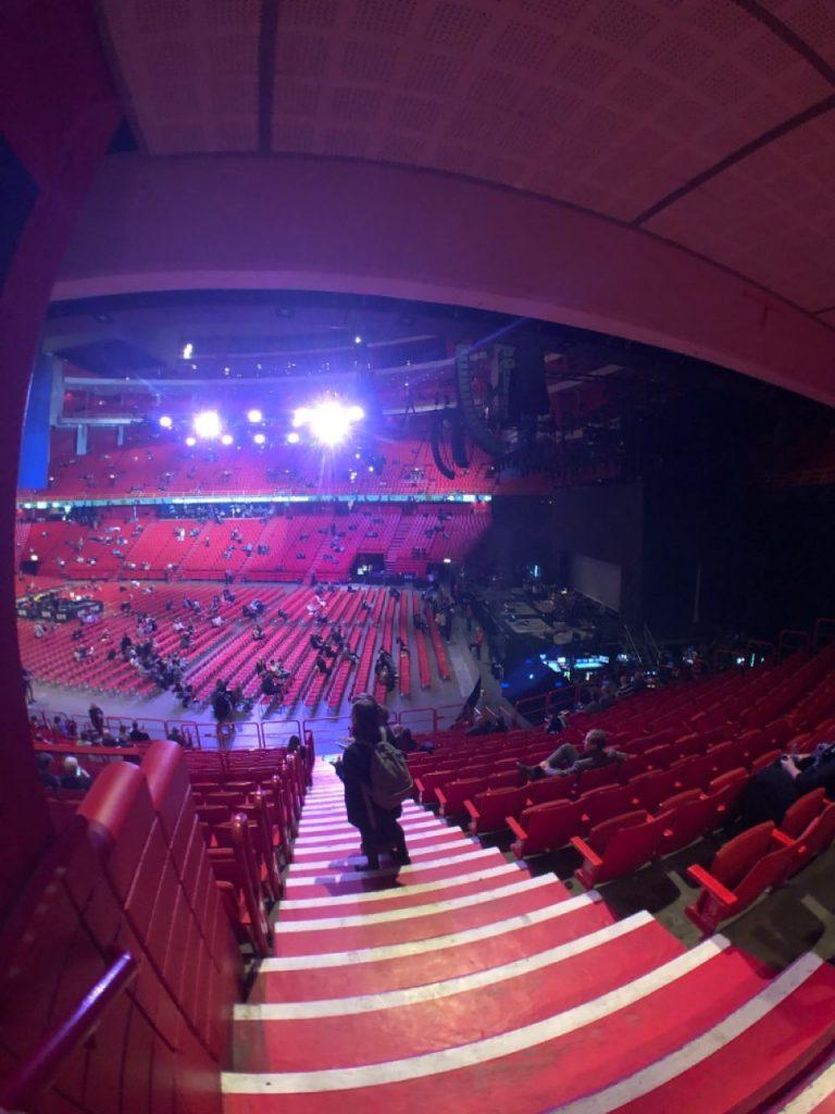 Ericcson Globe, concierto John Mayer en Estocolmo.