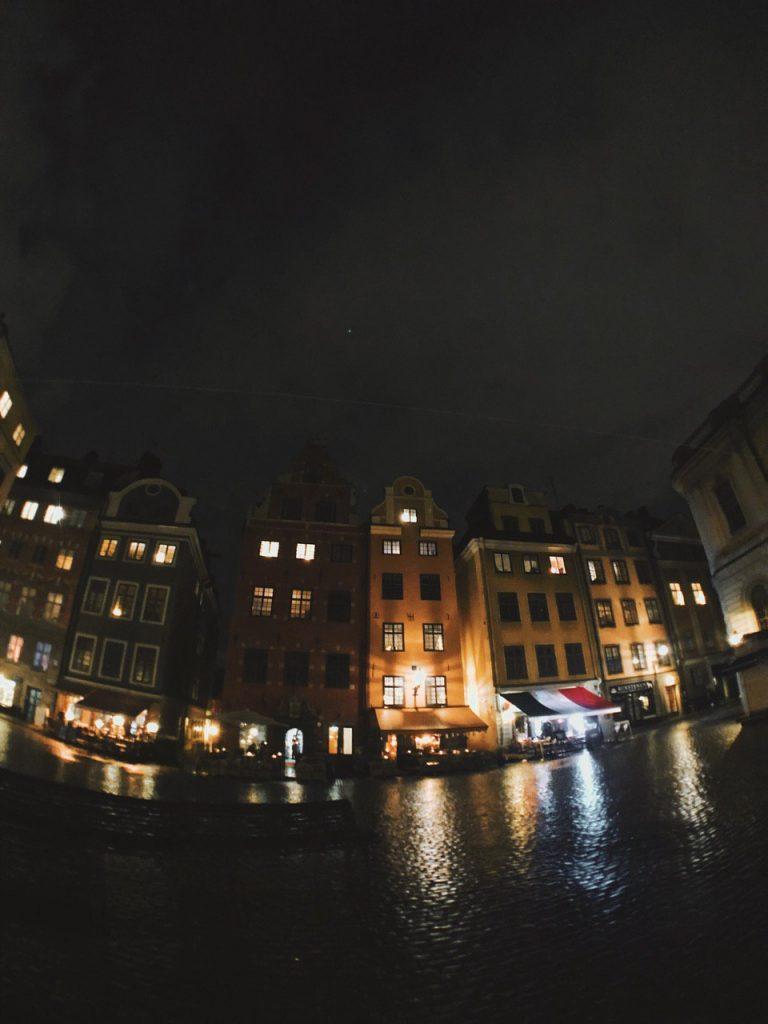 Storget, la plaza más antigua de Estocolmo.