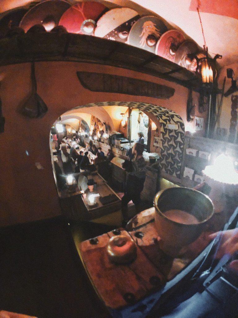 Pub / Bar vikingo en Gamla Stan, Estocolmo