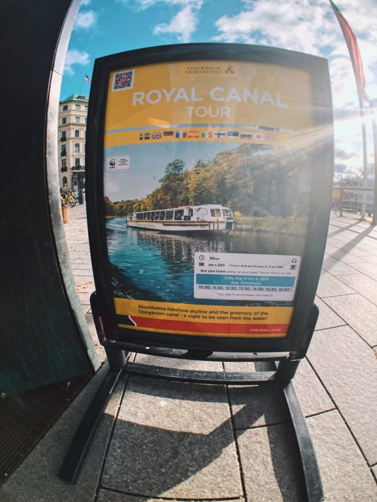 Punto de cambio del City pass y compra de tickets para Tours en Barco.