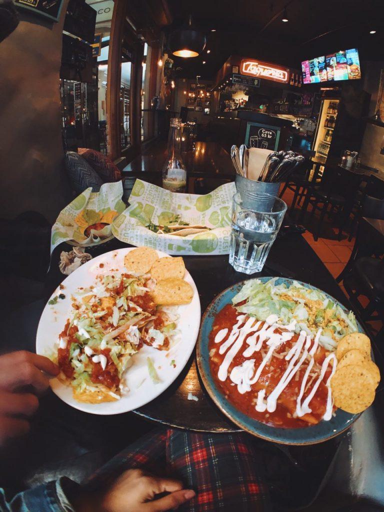 Taco Bar, opciones veganas en Gamla Stan, Estocolmo.