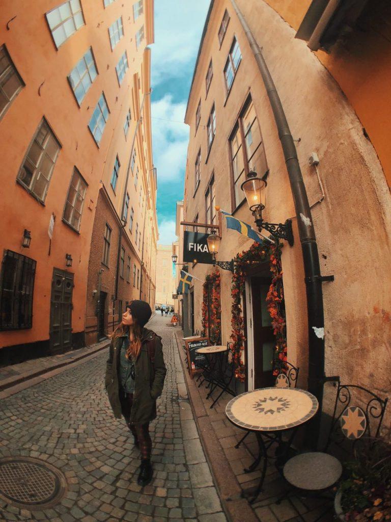 Gamla Stan, casco antiguo de Estocolmo. Viajes.