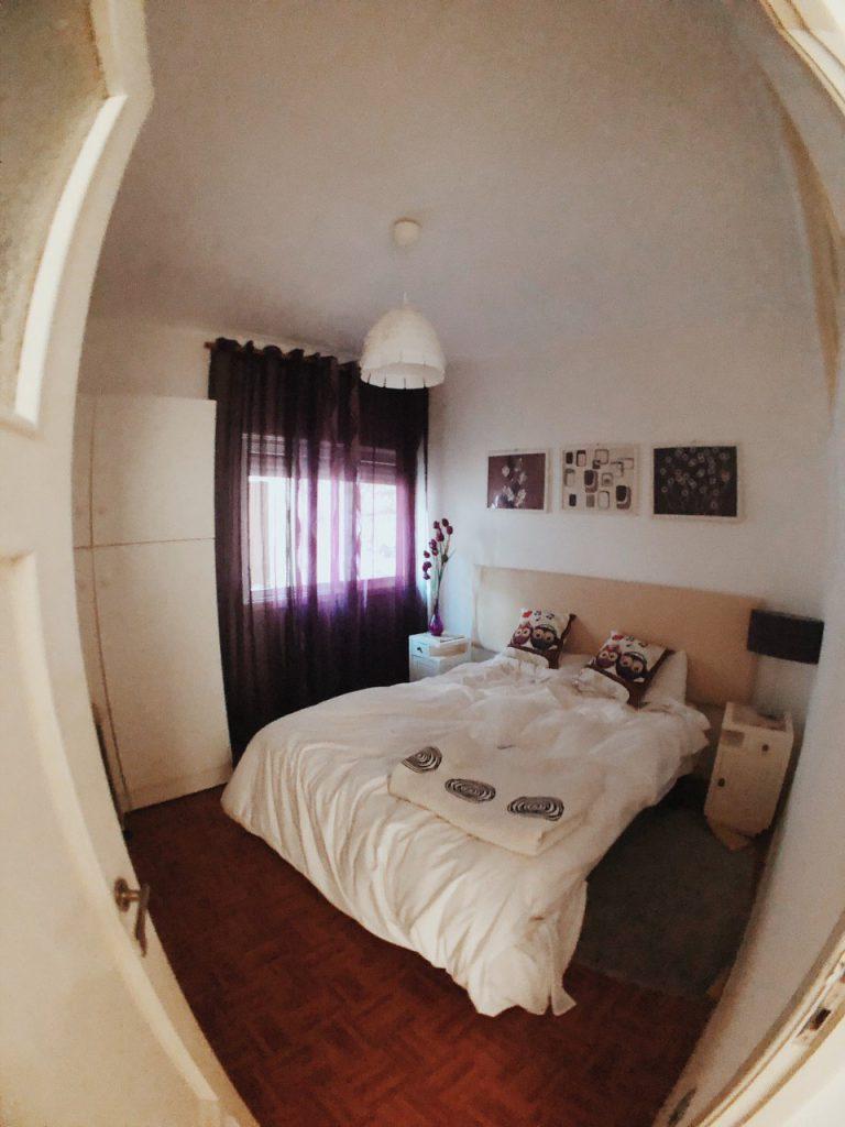Habitación doble del apartamento, Vila Nova de Gaia. Oporto. Alojamiento Barato. Hoteles.