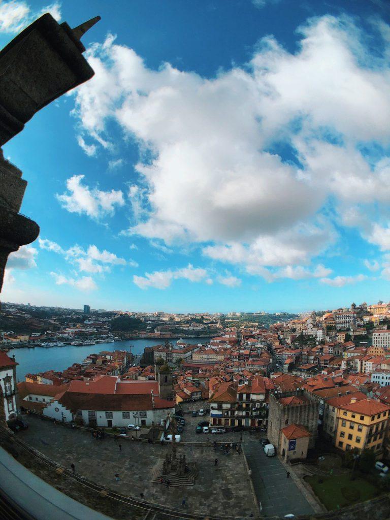 Panorámica de Oporto desde la torre de Sé do Porto.