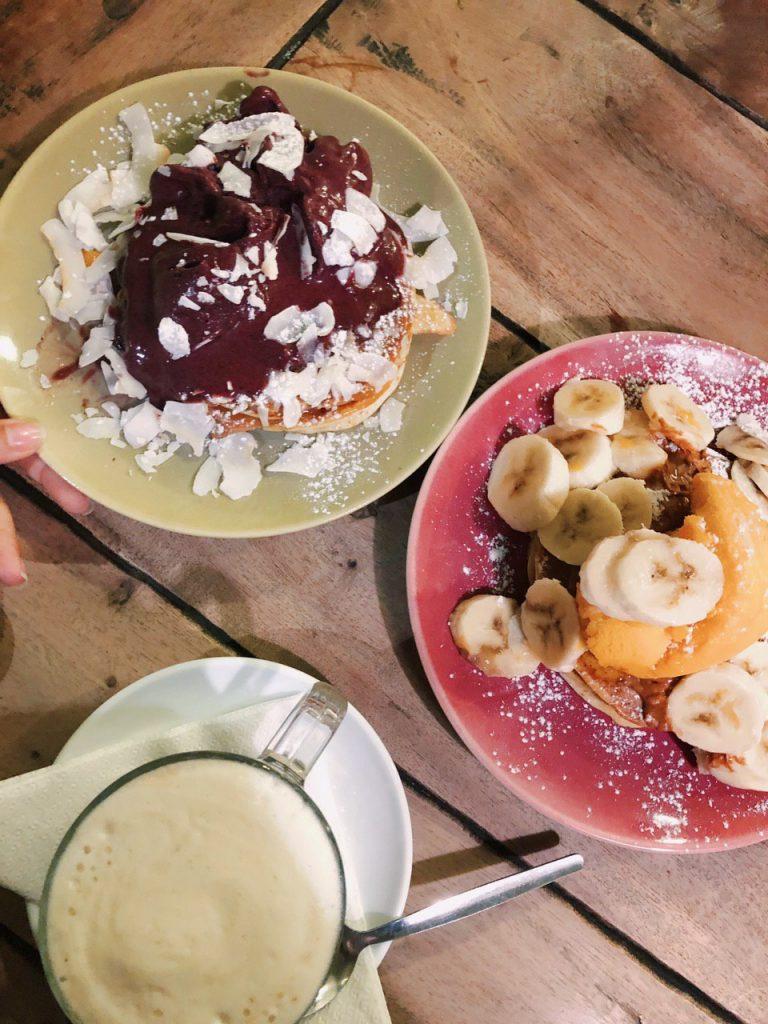 Comer vegano en Oporto: Pancakes en Odiplomata.