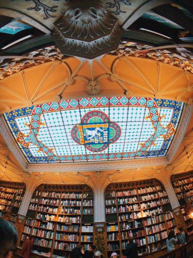 Techos de la librería Lello, inspiraron a J.K ROWLING