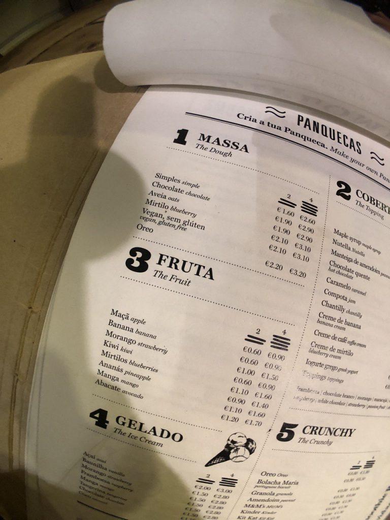 O diplomata: pancakes veganos en Oporto.