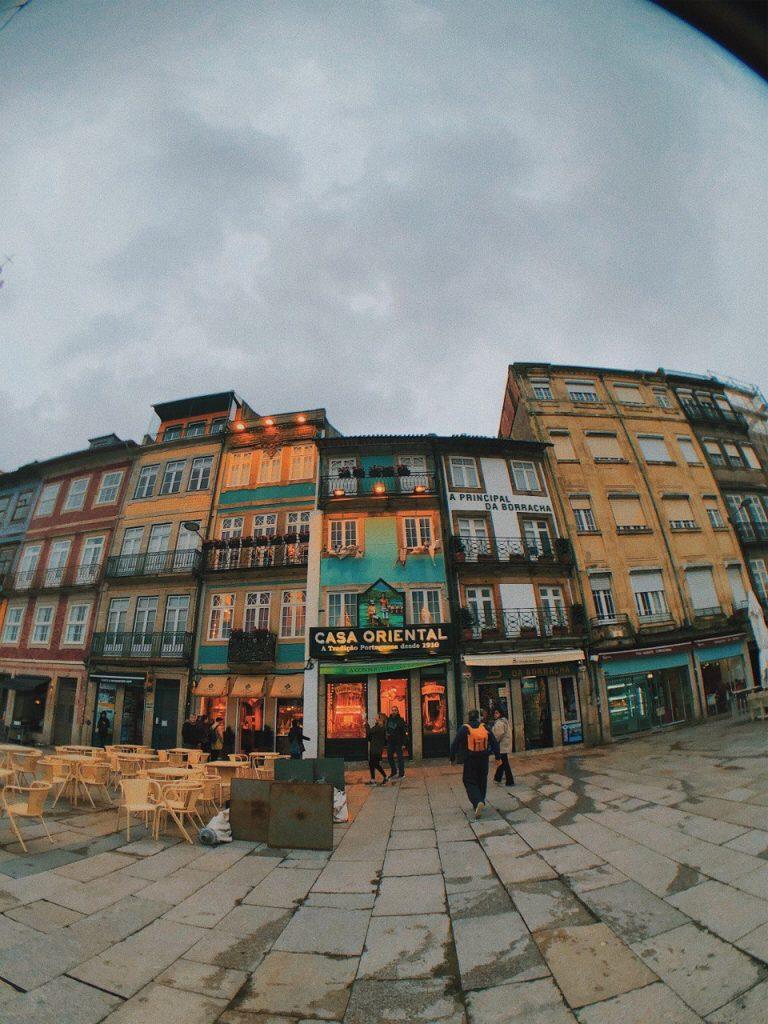 Viaje por Oporto. Casco antiguo.