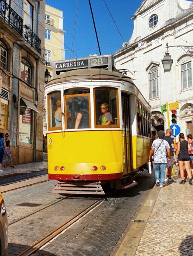 Tranvía de Lisboa, qué hacer en la ciudad. Blog de viajes.