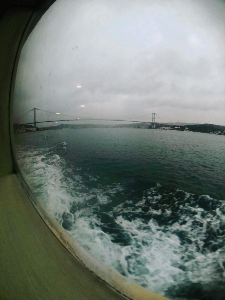 Ferry hasta Asia, Uskudar. Guía de viajes por Estambul.