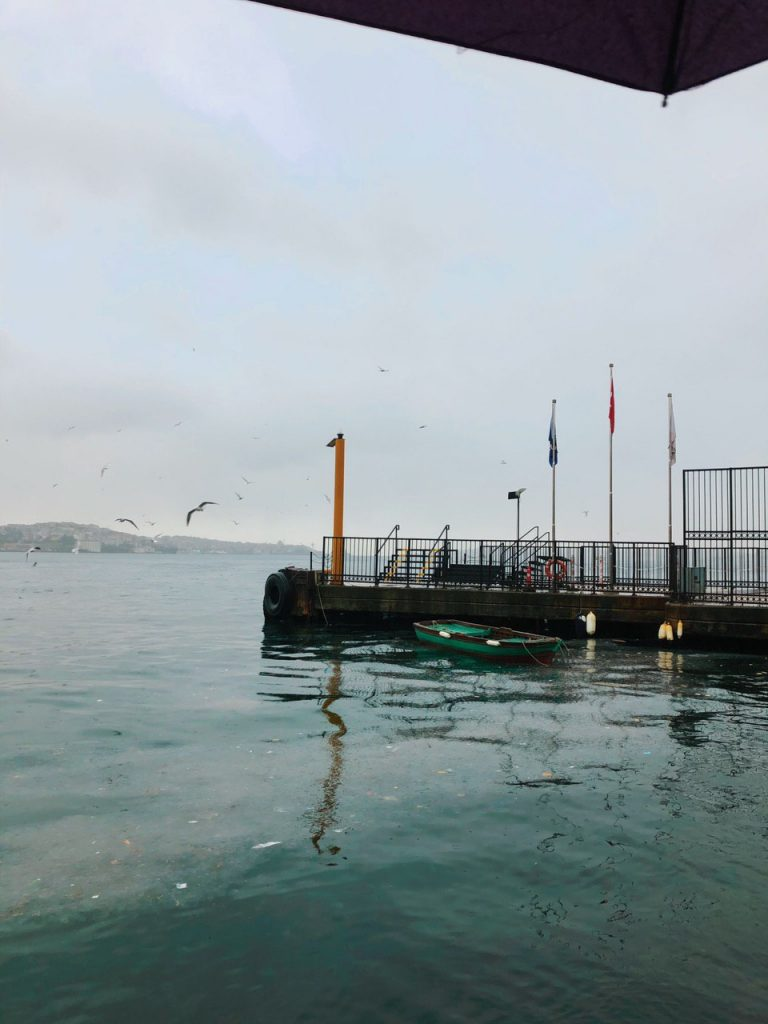 Puerto Ferry de Ortaköy a Uskudar. Guía Estambul.