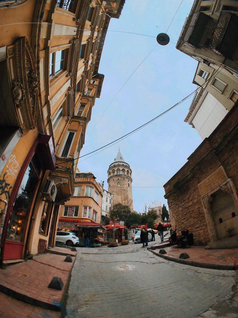 Barrio de Gálata, torre Gálata. Guía de viajes Estambul.