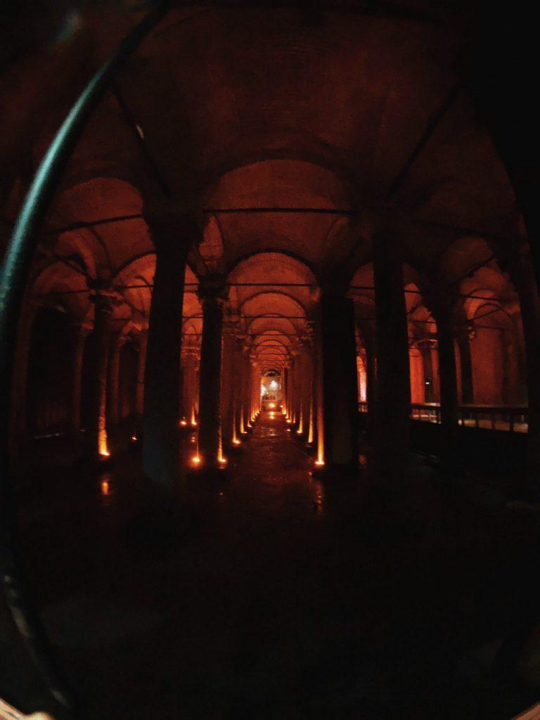 Basilica Cisterna, Estambul. Qué ver, guías de viaje.