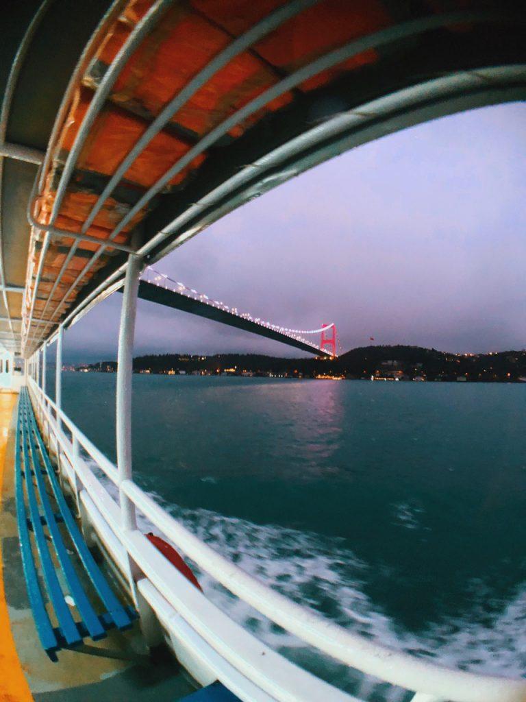 Crucero por el bósforo, Estambul.