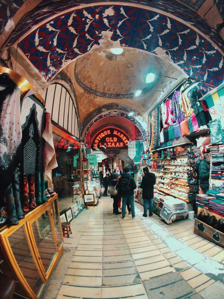 Gran Bazar de Estambul. Guía de viajes.