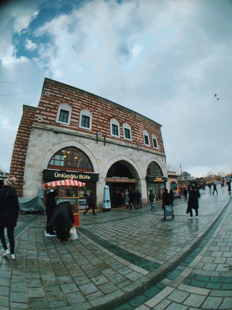 Mercado de las especias, Estambul.