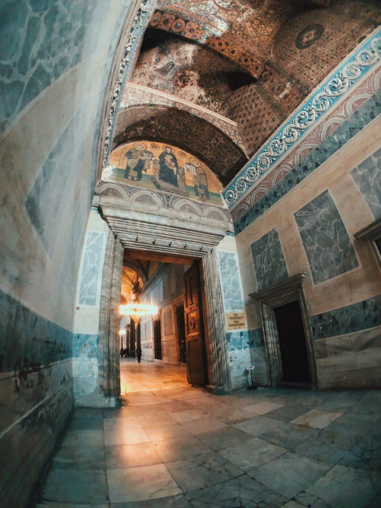Iconos Cristianos en Hagia Sofia. Estambul, qué ver.