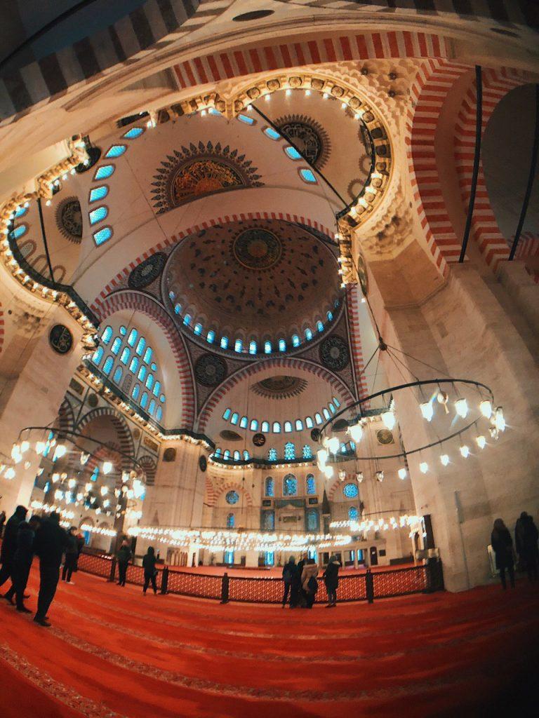 Mezquita de Suleimán, Estambul. Guía de viajes.